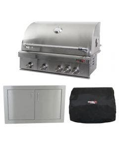 Dragon Fire Grills 40-Inch 3-Piece Built-In Grill Package