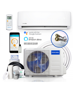 MRCOOL DIY 36,000 BTU Ductless Mini Split AC and Heat Pump with Wireless-Enabled Smart Controller