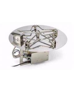 HPC 54-Inch Electronic Ignition Flat Pan Gas Fire Pit Kit - PENTA54EI