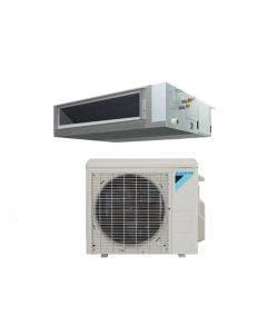 Daikin FDMQ 9,000 BTU 17.8 SEER Single Zone Concealed Duct Heat Pump System - Concealed Duct - RX09RMVJU