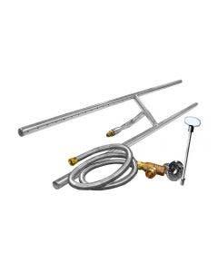 Firegear 48-Inch H-Burner Kit - FG-H-48SSK