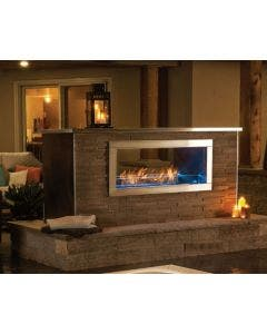 Napoleon Galaxy Outdoor See Through Gas Fireplace- GSS48ST