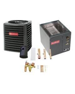 3 Ton 14 SEER Goodman Heat Pump System