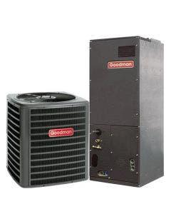 Goodman 1.5 Ton 15 SEER Variable Speed Heat Pump Air Conditioner System