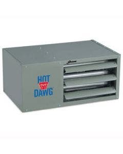 Modine Hot Dawg HDS - 100,000 BTU - Unit Heater - LP - 80% Thermal Efficiency - Separated Combustion - Aluminized Steel Heat Exchanger