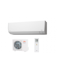 Fujitsu Mini-Split Hyper Heat Pump SINGLE-ZONE 9K System - Extra Low Temp Heating