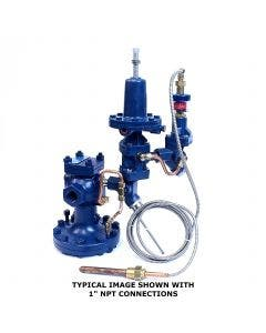 Watson McDaniel Temperature and Pressure Control Valve Assembly