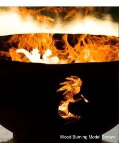 Fire Pit Art Gas Fire Pit - Kokopelli