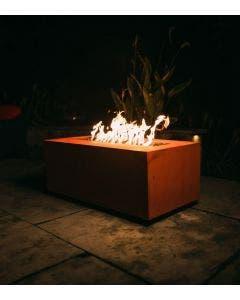 Fire Pit Art Gas Fire Pit - Linear 72 Inch