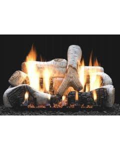 Empire Vent-Free Birch Ceramic Fiber Log Set 30 inch