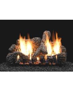 Empire Vent-Free Charred Oak Ceramic Fiber Log Set 30 inch
