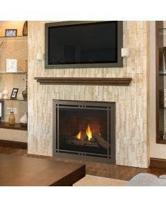 Majestic Meridian 42-Inch Gas Direct Vent Fireplace- MERID42