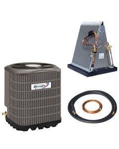 Revolv 2 Ton 13 SEER Mobile Home Air Conditioner & Coil With AccuCharge Quick Connect