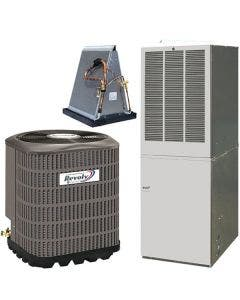 Revolv 3.5 Ton 14 SEER 10KW Mobile Home Heat Pump & Electric Furnace With AccuCharge Quick Connect
