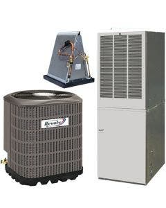 Revolv 3 Ton 14 SEER 12KW Mobile Home Heat Pump & Electric Furnace With AccuCharge Quick Connect