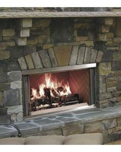 Majestic 42 Inch Outdoor Wood Fireplace- Montana