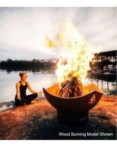 Fire Pit Art Gas Fire Pit - Namaste