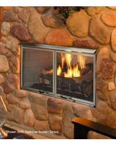 Majestic 36-Inch Villa Outdoor Gas Fireplace- ODVILLAG-36T