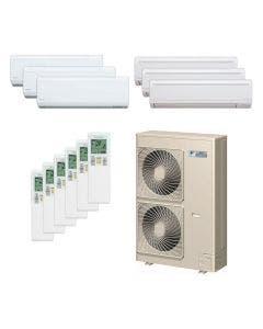 Daikin 48,000 BTU 18.8 SEER Six Zone Heat Pump System 7+7+7+9+9+9 - Wall Mounted