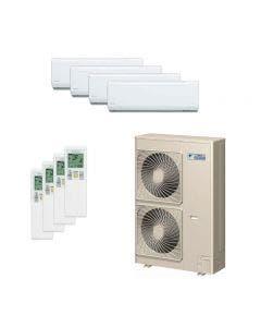 Daikin 48,000 BTU 18.8 SEER Quad Zone Heat Pump System 7+7+7+7 - Wall Mounted