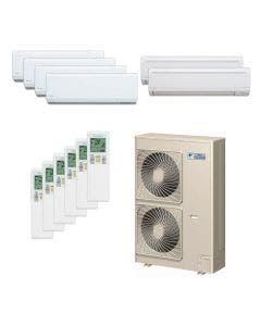 Daikin 48,000 BTU 18.8 SEER Six Zone Heat Pump System 7+7+7+7+9+9 - Wall Mounted