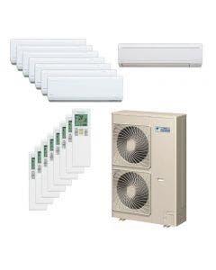 Daikin 48,000 BTU 18.8 SEER Eight Zone Heat Pump System 7+7+7+7+7+7+7+9 - Wall Mounted