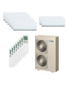 Daikin 48,000 BTU 18.8 SEER Eight Zone Heat Pump System 7+7+7+7+7+7+7+7 - Wall Mounted