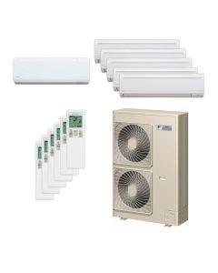 Daikin 48,000 BTU 18.8 SEER Six Zone Heat Pump System 7+9+9+9+9+9 - Wall Mounted