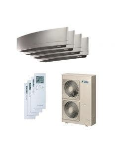 Daikin 48,000 BTU 18.8 SEER Quad Zone Heat Pump System 9+12+12+18 - Wall Mounted