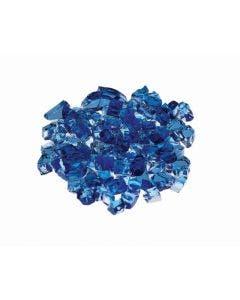 "Prism Hardscapes Fire Glass 1/4"" Metallic - 5-lbs - Aqua - PH-420-2"