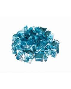 "Prism Hardscapes Fire Glass 1/4"" Metallic - 5-lbs - Mist - PH-420-8"
