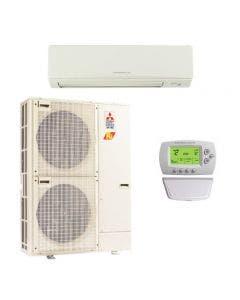 Mitsubishi 36,000 BTU 16.2 SEER Single Zone Heat Pump System - Wall Mounted