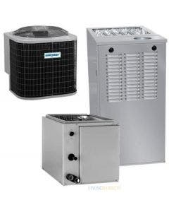 1.5 Ton 13 SEER 80% AFUE 44,000 BTU AirQuest Gas Furnace and Air Conditioner System - Upflow/Downflow