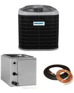 """1.5 Ton 13 SEER AirQuest Air Conditioner with Vertical 14"""" Cased Coil"""