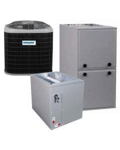 2 Ton 13 SEER 96% AFUE 80,000 BTU AirQuest Gas Furnace and Air Conditioner System - Multi-Positional