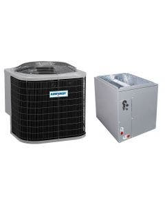 """1.5 Ton 14 SEER AirQuest Air Conditioner with Multi-positional 14"""" Cased Coil"""