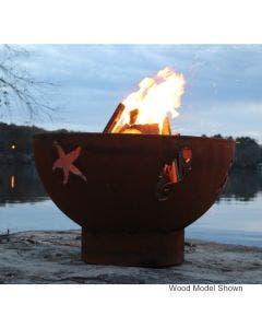Fire Pit Art Gas Fire Pit - Sea Creatures