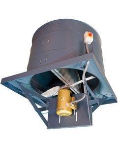 Hartzell Series 61H Heavy Duty Direct Drive Upblast Roof Ventilator