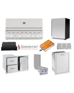 Summerset 8-Piece Outdoor Kitchen Package With The TRL-38 Grill- TRL-38 Package 1