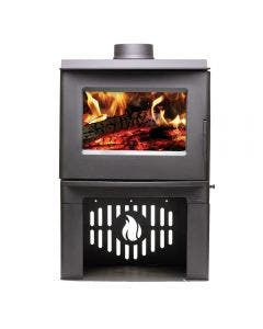 Breckwell SW1.2 Wood Burning Stove With Black Finish - SW1.2