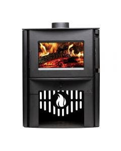 Breckwell SW2.5 Large Wood Burning Stove With Black Finish - SW2.5