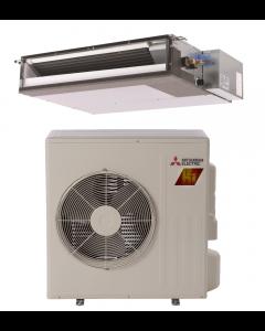 18,000 BTU 19.1 SEER Concealed Duct Mitsubishi Mini-Split Single Zone H2i Hyper Heat Heat Pump - SEZ-KA18NAHZ