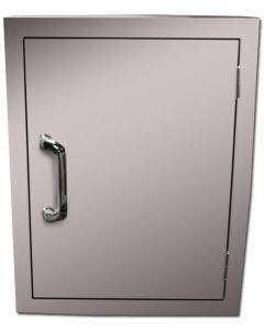 American Outdoor Grill 20-Inch Left Hinged Horizontal Single Access Door - 14-20-SSDL