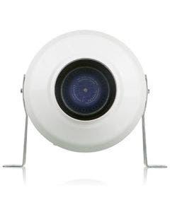 "VENTS-US 5"" AntiRADON In-Line Centrifugal  Plastic Fan - VK 125"