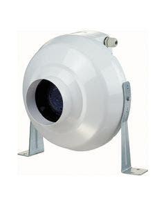 "VENTS-US 4"" AntiRADON In-Line  Centrifugal Plastic Fan - VK 100"