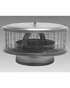 Weathershield Chimney Caps For Insulated Or Single Wall Chimney Pipes - WSA
